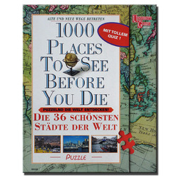 Spiel 1000 places to see before you die Puzzle gebraucht