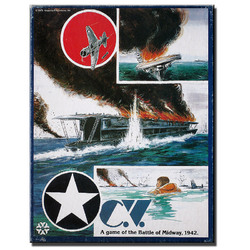 Spiel C.V.A game of the Battle of Midway 1942 gebraucht