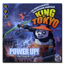 Spiel King of Tokyo Power-Up 1. Edition Erweiterung