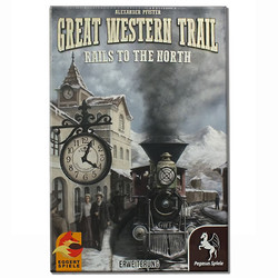 Spiel Great Western Trail: Rails to the North Erw. gebraucht