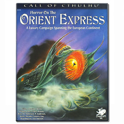 Spiel Call of Cthulhu: Horror on the Orient Express gebraucht