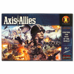 Spiel Axis & Allies Control the Fate of the World ENGLISCH gebraucht