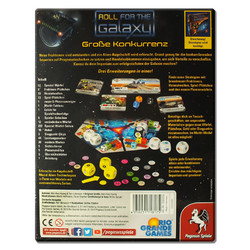 Spiel Roll for the Galaxy: Große Konkurrenz