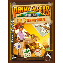 Spiel Penny Papers Adventures Die Totenkopfinsel