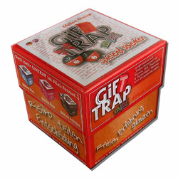 Spiel Gift Trap Mini Orange