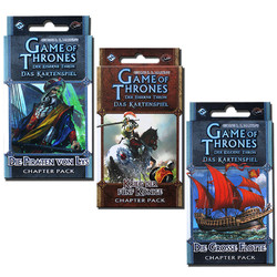 Spiel GoT Der eiserne Thron LCG 3er Bundle Chapterpacks