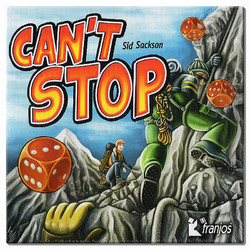 Spiel Cant Stop Neuauflage