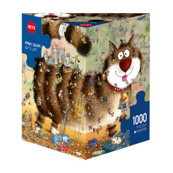 Spiel Cats life 1000 Teile Puzzle Heye 29569