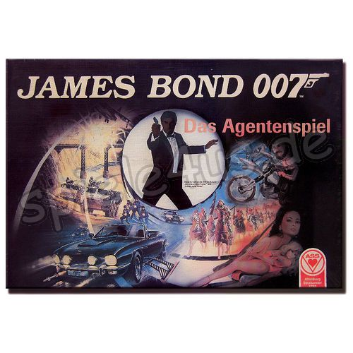 500x500 James Bond 007 Das Agentenspiel gebraucht ASS Altenburger Spielkarten