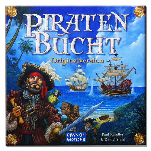 500x500 Piratenbucht Originalversion gebraucht Days of Wonder