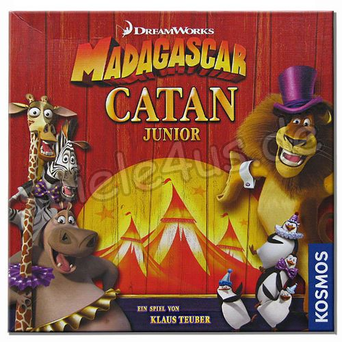500x500 Madagascar Catan Junior gebraucht KOSMOS
