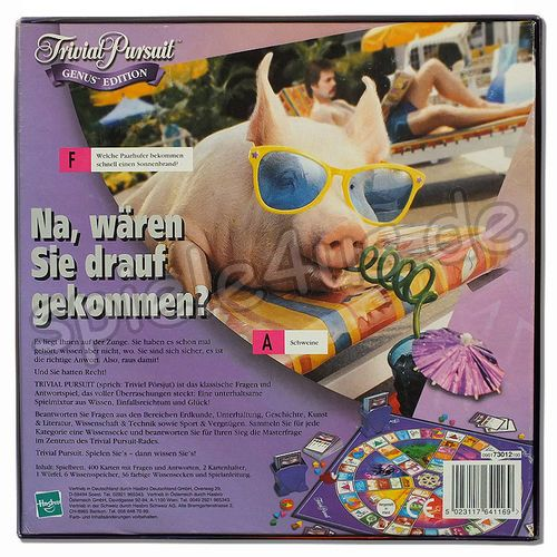500x500 Trivial Pursuit Genus Edition 73009100 gebraucht Parker