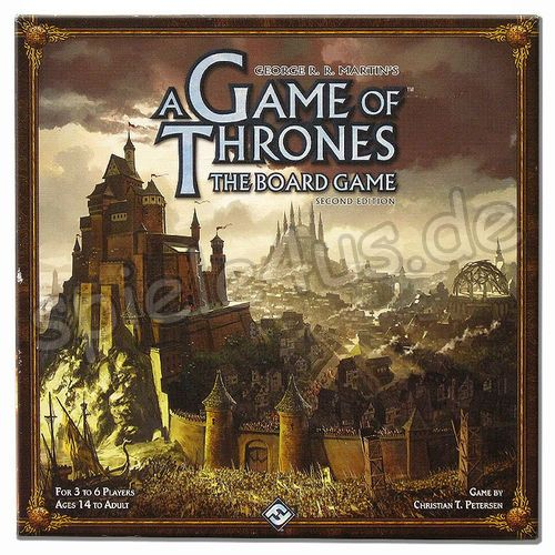 500x500 A Game of Thrones the Board Game: 2nd Edition gebraucht Fantasy Flight Games