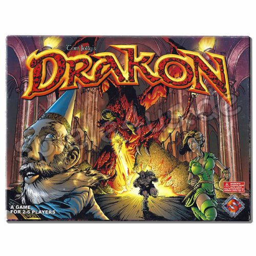 500x500 Drakon gebraucht Fantasy Flight Games