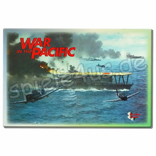 500x500 War in the Pacific mit Extension Kit gebraucht Decision Games