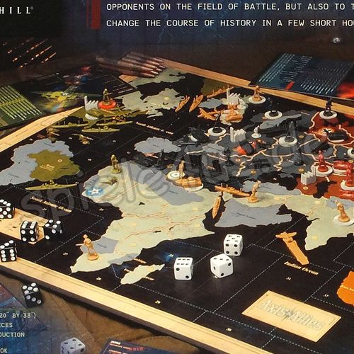 500x500 Axis & Allies Control the Fate of the World ENGLISCH gebraucht Avalon Hill/Hasbro