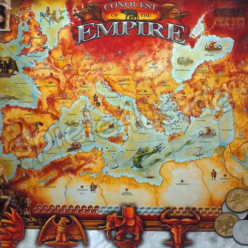 500x500  Conquest of the Empire gebraucht Eagle Games