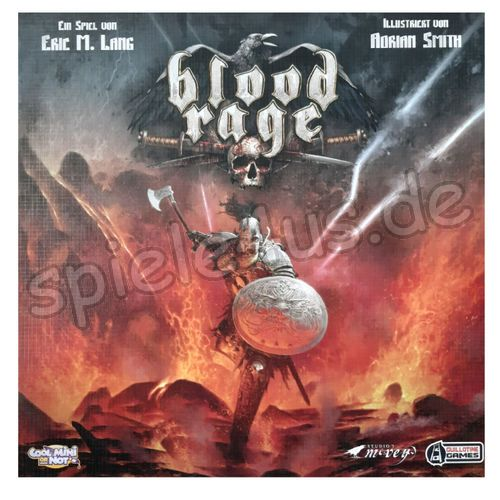 500x500 Blood Rage gebraucht Cool Mini or Not