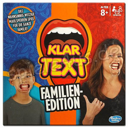 500x500 Klartext Familienedition gebraucht Hasbro Gaming