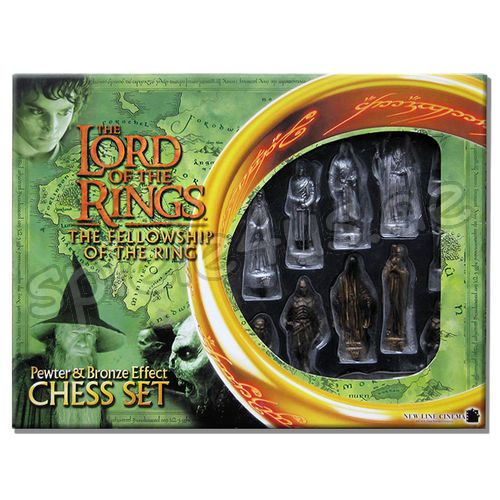 500x500 The Lord of the Rings Chess Set gebraucht Character Games Ltd.