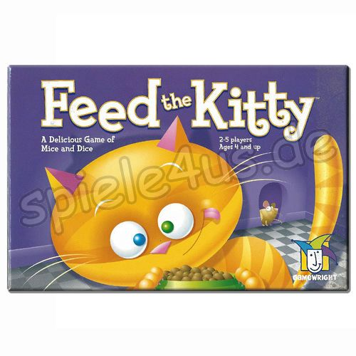 500x500 Feed the Kitty ENGLISCH gebraucht Gamewright