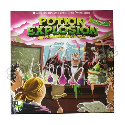 500x500 Potion Explosion: 2 Edition gebraucht Horrible Games/HeidelBÄR Games