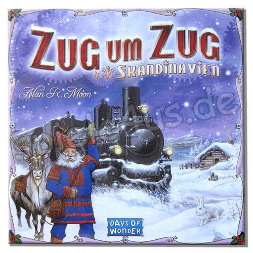 500x500 Zug um Zug Skandinavien Days of Wonder