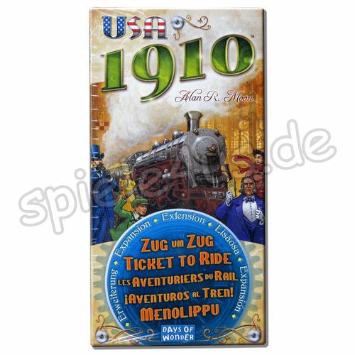 500x500 Zug um Zug USA 1910 Erw. Days of Wonder