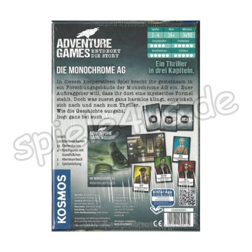 500x500 Adventure Games Die Monochrome AG KOSMOS