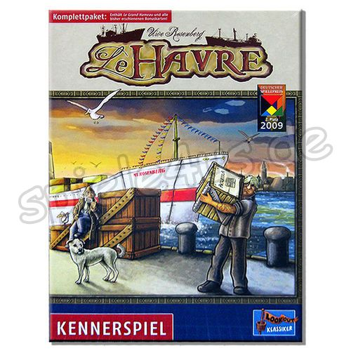 500x500 Le Havre Komplettpaket 2018 Lookout Games