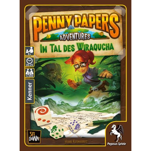 500x500 Penny Papers Adventures Im Tal des Wiraqucha PEGASUS SPIELE