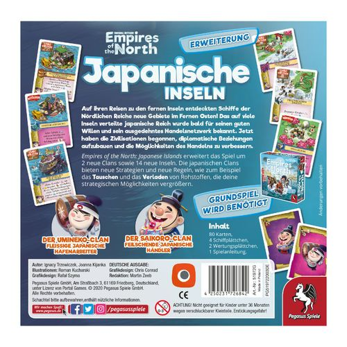 500x500 Empires of the North - Japanische Inseln PEGASUS SPIELE