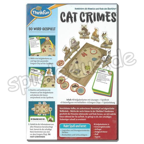 500x500 Cat Crimes Think Fun