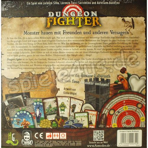 500x500 Dungeon Fighter DEUTSCH NEUAUFLAGE Cranio Creations