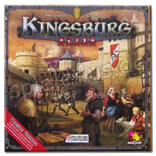 500x500 Kingsburg 2. Edition DEUTSCH Stratelibri/FFG/Heidelberger