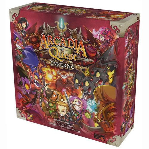 500x500 Arcadia Quest Inferno DEUTSCH Cool Mini or Not