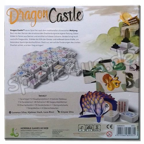 500x500 Dragon Castle DEUTSCH Horrible Games