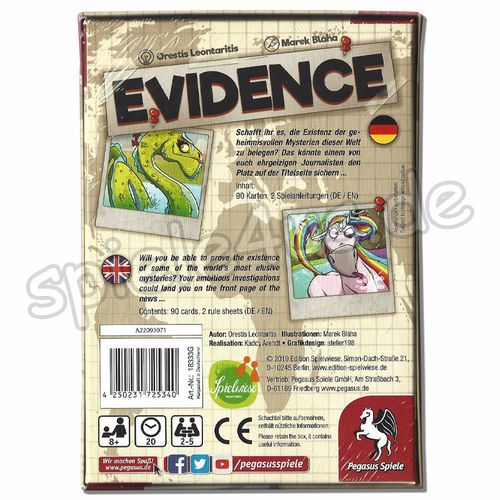 500x500 Evidence Edition Spielwiese