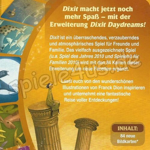 500x500 Dixit 5 – Daydreams Erweiterung Asmodee/Libellud