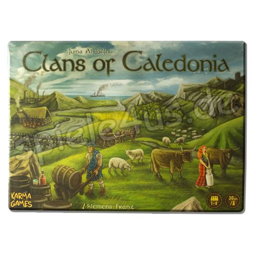 500x500 Clans of Caledonia Karma Games