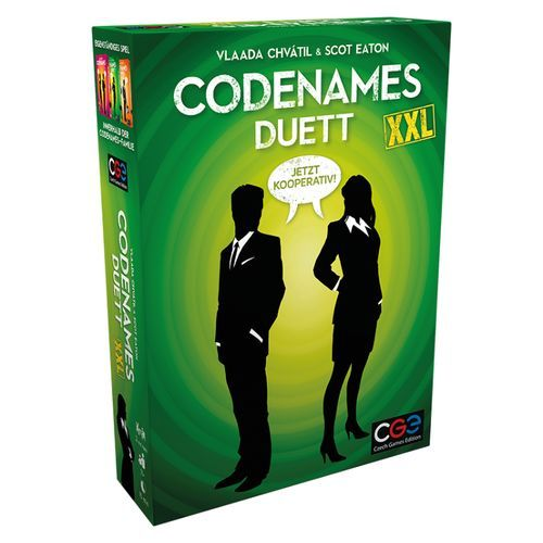 500x500 Codenames Duett XXL CGE Czech Games Edition