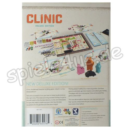 500x500 Clinic - deluxe edition Ludicreations