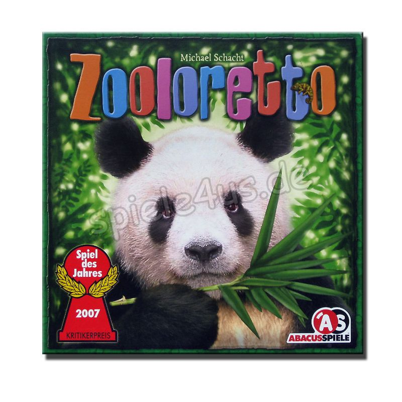 800x800 Zooloretto gebraucht ABACUSSPIELE