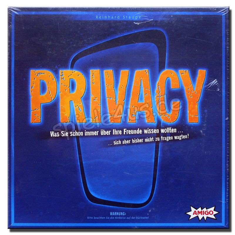 Spiel Privacy