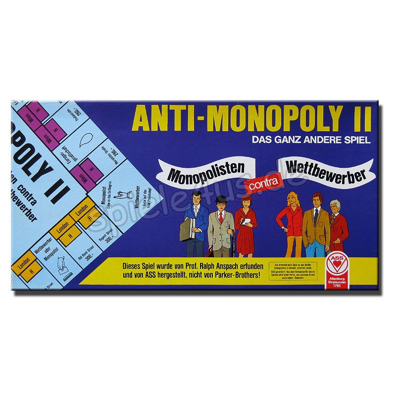 800x800 Anti-Monopoly II gebraucht ASS Altenburger Spielkarten