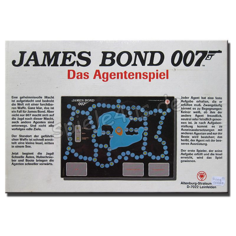 james bond 007 das agentenspiel versandkostenfrei kaufen. Black Bedroom Furniture Sets. Home Design Ideas