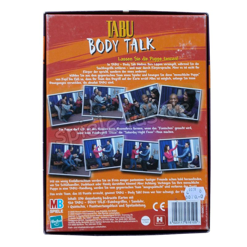 Tabu Body Talk