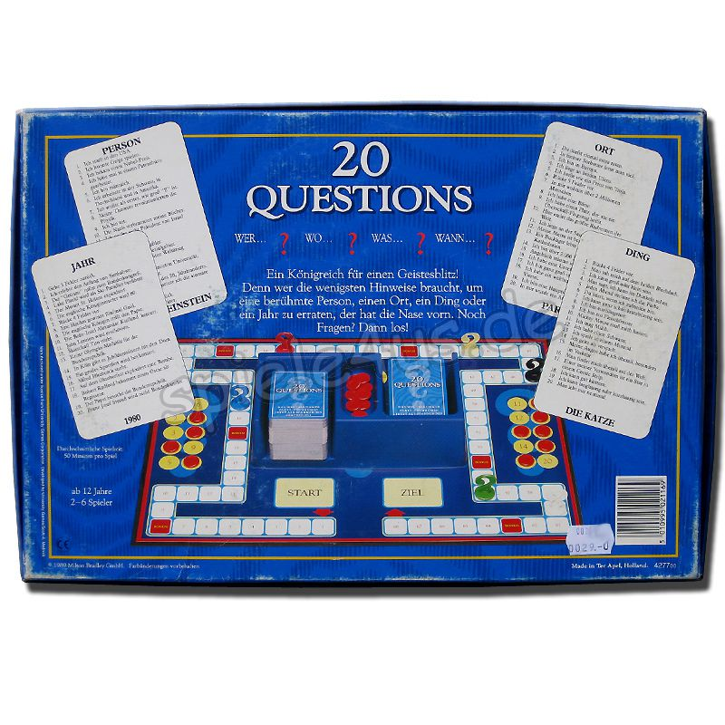 20 Questions Spiel