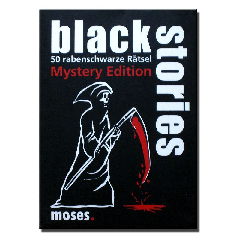 800x800 Black Stories Mystery Edition gebraucht Moses Verlag