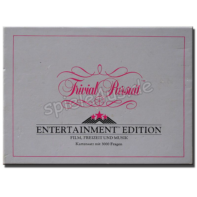 800x800 Trivial Pursuit Entertainment Edition 000638 gebraucht Parker